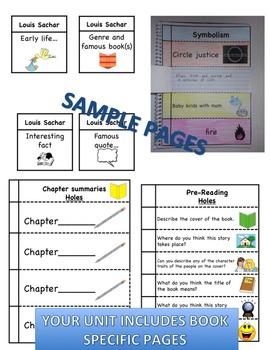 Belle Prater's Boy Complete Literature, Grammar, & Interactive Foldables Unit
