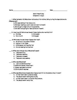 Belle Prater's Boy Chapter Quizzes