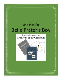 Belle Prater's Boy Novel Unit Plus Grammar