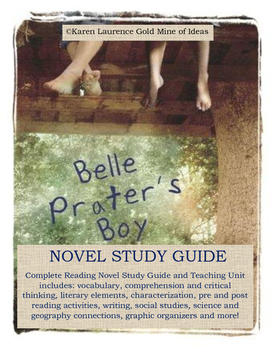 Belle Prater's Boy by Ruth White ELA Study Novel Guide Complete!