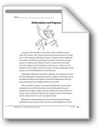 Bellerophon and Pegasus (A myth)
