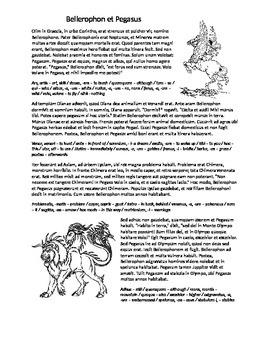 Bellerophon and Pegasus - Perfect Tense (Latin I)
