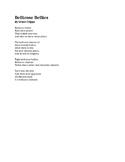 Bellicose Poem: Bellicose Bellies