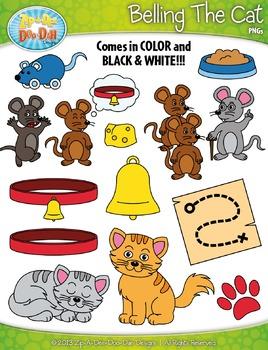 Belling The Cat Famous Fables Clipart {Zip-A-Dee-Doo-Dah Designs}