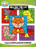 Belling the Cat Color By Code Clipart {Zip-A-Dee-Doo-Dah Designs}