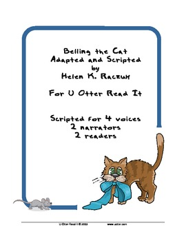 Readers Theatre: Belling the Cat, an Aesop Fable
