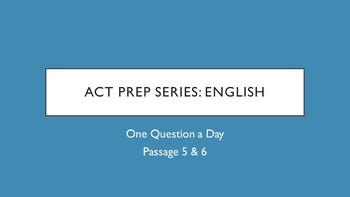 Bellringer ACT Prep - English (3 of 3)