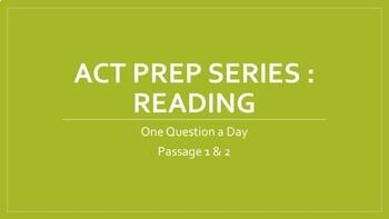 Bellringer ACT Prep - Reading (1 of 3)