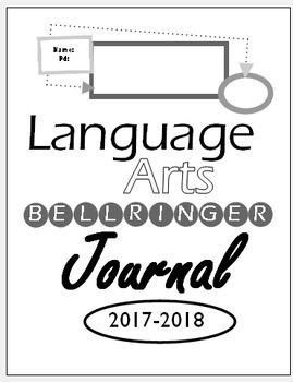 Bellringer Journal Template