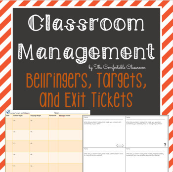 Bellringer Learning Target Accountability Sheet