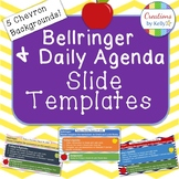 Bellringer and Daily Agenda Slide Template (All Grade Levels)