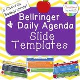 Bellringer and Daily Agenda Slide Template (All Grade Levels)