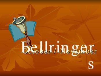 Bellringers / Classroom Warmups 2 Powerpoint