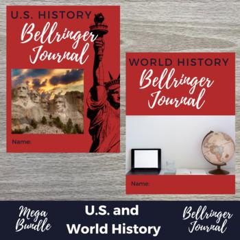 History DBQ Bellringers Complete GROWING BUNDLE (40% Off!)