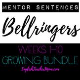 Bellringers Mentor Sentences