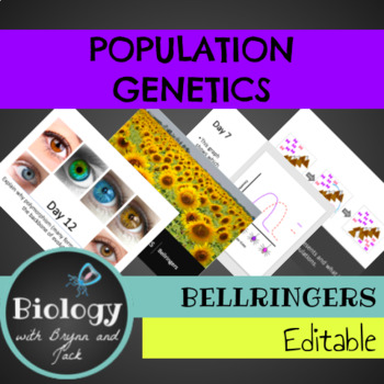 Bellringers: Population Genetics