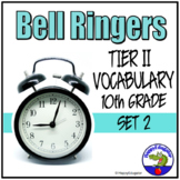 Bell Ringers - Tier Two Vocabulary in Context 2