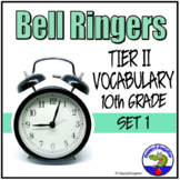 Bell Ringers - Tier Two Vocabulary in Context 1