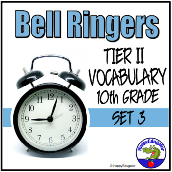 Bell Ringers - Tier Two Vocabulary in Context 3