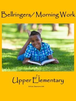 Bellringers for Lower Elementary Students: Summer Themed