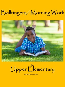 Bellringers for Lower Elementary Students: Summer Themed