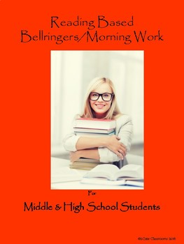 Bellringers for Middle & High School Students Set 3