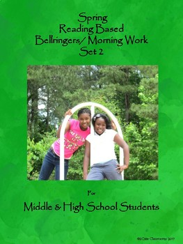 Bellringers for Middle & High School Students: Spring Themed