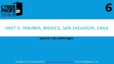 Bellringers for Spanish 1 and 2 (unit 6)
