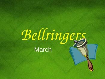 Bellringers/Classroom Warmups 5 Powerpoint