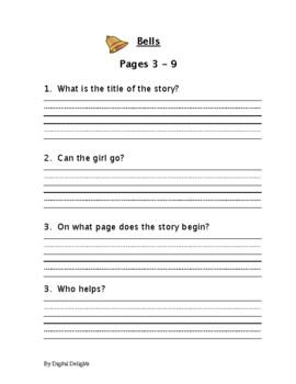 Bells Primer Comprehension Questions