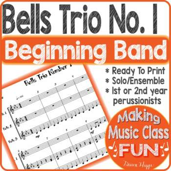 Bells Trio Number 1 Percussion Ensemble Trio