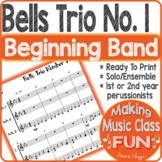 Bells Trio Number 1 Percussion Ensemble Trio