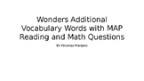 Bellwork 2nd/3rd: vocabulary + NWEA MAP reading and math 2-5 questions