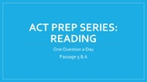 Bellwork ACT Prep - Reading (3 of 3)