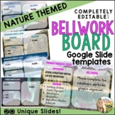 Bellwork Board Templates Nature Theme
