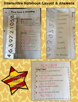 Bellwork Bundle ~ Place Value & Rounding