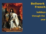 Bellwork FRENCH to use before the holidays