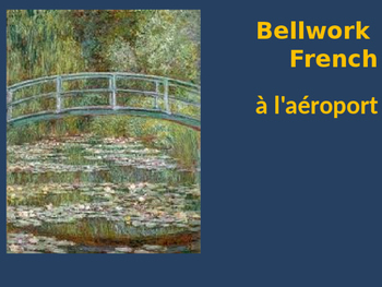 Bellwork French Vocabulary à l'aéroport