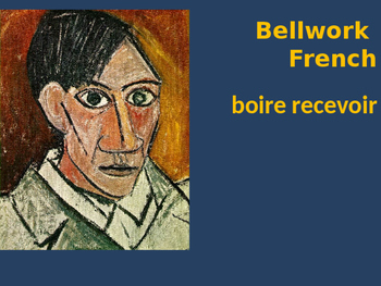 Bellwork French boire recevoir