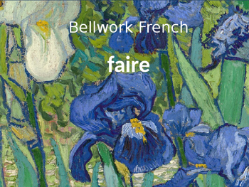 Bellwork French faire