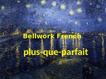 Bellwork French plus-que-parfait