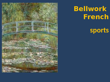 Bellwork French sports