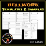 Bellwork Templates and Samples