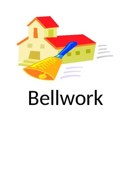 Bellwork Visual Graphic