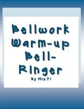 Bellwork_Warmup_Bellringer