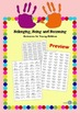 Belonging Being Becoming Outcomes Stickers Labels for Chil