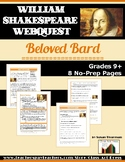 Webquest About Shakespeare's Life and Works: Beloved Bard