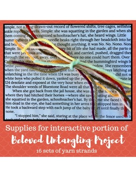 Toni morrison beloved teaching resources teachers pay teachers toni morrisons beloved untangling project supplies untangled yarn fandeluxe Choice Image