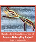"Toni Morrison's Beloved ""Untangling Project"" Supplies -- U"