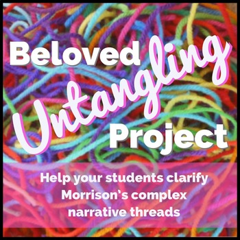 "Beloved by Toni Morrison Close Reading ""Untangling Project"" AP Lang and AP Lit"